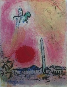 "Marc Chagall (1887-1958 - after)  La place de la Concorde   Lithograph.  Printer: Atelier Mourlot Unsigned Japan paper Size 39 x 30 cm References: Mourlot 353 This lithograph was created for the portfolio ""Regards sur Paris"" published in 1962 by André Sauret and limited to 180 copies.  This is probably a workshop proof outside the portfolio edition  Excellent condition  Sent, carefully packed, by international parcel with track & trace."