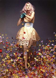 Flora Plan I Vogue Australia I May 2009 I Model: Valerija Erokhina I Photographer: Troyt Coburn.