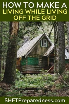 Living off grid evokes memories of a humbler time, when we took care of ourselves using the resources found in our immediate surroundings. Homestead Survival, Wilderness Survival, Survival Prepping, Emergency Preparedness, Survival Gear, Survival Skills, Survival Quotes, Apocalypse Survival, Tactical Survival
