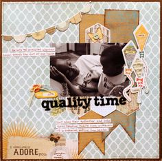 Quality Time *WOW! Embossing Powders* - Scrapbook.com