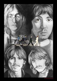 The Beatles | Formed in in 1960 in Liverpool, England | Widely regarded as the greatest and most influential act of the rock era | They used five other band names before settling on The Beatles | Artwork by Chris Hoffman [©2007-2014 choffman36]