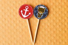 Festa Expressa - Ursinho Marinheiro - Tuty - Arte  Mimos www.tuty.com.br Que tal usar esta inspiração para a próxima festa? Entre em contato com a gente! www.tuty.com.br #festa #personalizada #party #tuty #ursinho #bear #baby #pink #teddy #marinheiro #sailor