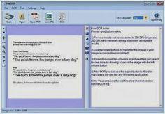 FreeOCR - Programm für die Erkennung von Text