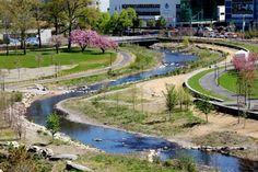 Mill River Park and Greenway | Stamford Connecticut | OLIN « World Landscape Architecture – landscape architecture webzine