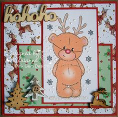 Marianne's Craftroom: Rudolph???