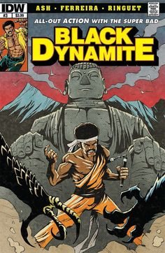 PREVIEW- BLACK DYNAMITE #3 from @IDWPublishing! (((airhorn)))