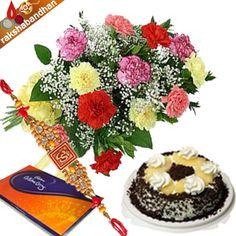 Rakhi Celebrations with Cake and Chocolates