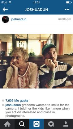 Awww! Lol! This is something me and my mom would do! (TØP)