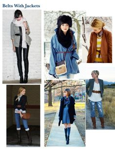 belts with jackets