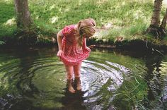 This would be an awesome picture for Emilyn, but I think I'd cry if her boots got wet!!