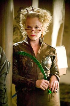 Rita Skeeter - Harry Potter and the Goblet of Fire I hate her.