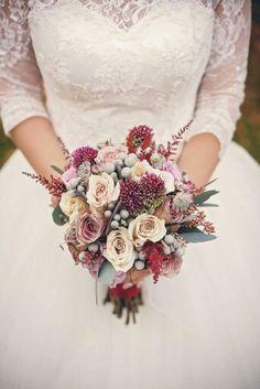 My wedding bouquet! I love it!