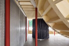 c9da47e042 Translucent fabric conceals the stockroom in the far back corner, while  metal-reinforced fabric