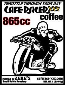 norton model 30 - cafe racer series #2 art print | cafes and wheels