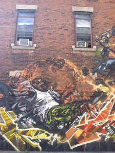 Montreal street art. Zippertravel.com