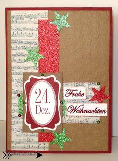 Arts by Tini: Die ersten Weihnachtskarten ...