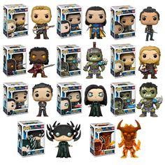 From Thor: Ragnarok Funko Pop Marvel, Marvel Pop Vinyl, Loki Funko Pop, Funko Pop Dolls, Funko Pop Figures, Pop Vinyl Figures, Stick Figures, Disney Pixar, Luke Cage
