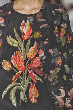 Dries Van Noten - patternprints journal: PRINTS, PATTERNS AND DETAILS FROM S/S 14 WOMENSWEAR COLLECTIONS, PARIS FASHION WEEK / 2