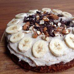 Goldfenger   Healthy Food   Choco Banana Protein Cake
