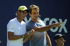 L'Espagnol Rafael Nadal et le Suisse Roger Federer peuvent se targuer d'être les tennismen en activité les plus titrés. Cependant, pour la première fois depuis 2003, ils ne figurent plus dans le top 4 du classement ATP.