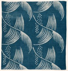 ¤ Fragment, 1933 designed by Dorothy M. Larcher (British, 1884-1952) block printed cotton, Overall - h:56.60 w:53.40 cm (h:22 1/4 w:21 inches).