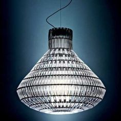 Tropico Bell Suspension Lamp & Chandeliers by Foscarini Kitchen Ceiling Lights, Ceiling Pendant, Pendant Lamp, Pendant Lighting, Ceiling Lighting, Ceiling Fans, Cheap Pendant Lights, Flush Mount Lighting, Modern Glass