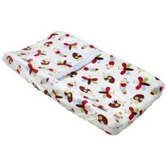 Make Changing Time A Happy Time For Your Little Lady With The NoJo Changing  Pad Cover. This Super Fluffy Cream Cover Is Decorated With A.