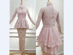 super Ideas for dress batik resmi Model Kebaya Brokat Modern, Kebaya Modern Hijab, Kebaya Hijab, Kebaya Muslim, Muslim Dress, Model Kebaya Modern Muslim, Kebaya Peplum, Kebaya Lace, Kebaya Pink