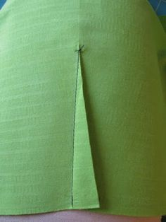 Sewing the perfect pleat