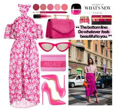 """""""Color Code"""" by cherieaustin ❤ liked on Polyvore featuring Borgo De Nor, Stoney Clover Lane, Marc Jacobs, Le Specs, Lancôme, MAC Cosmetics, Kjaer Weis and Yves Saint Laurent"""