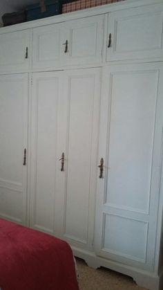 armario ropero pintado con chalk paint