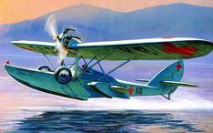 Летающая лодка Ш - 2 Flying Boat, Aviation Art, 2 Colours, Pilot, Aircraft, Color 2, History, Airplanes, Wwii