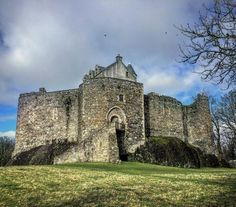 Dunstaffnage Castle is a partially ruined castle in Argyll and Bute.