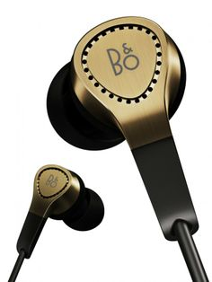Bang & Olufsen BeoPlay H3 Gold Edition Product Design #productdesign