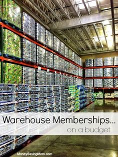 Can you REALLY save money with a membership to places like Costco or Sam's Club? This post unpacks that question and gives lots of food for thought on how to determine whether a warehouse membership is right for your family and budget.