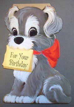 25th Birthday Wishes, Happy Birthday Greetings Friends, 50th Birthday Cards, Vintage Birthday Cards, Happy Birthday Images, Vintage Greeting Cards, Birthday Greeting Cards, Vintage Postcards, Old Cards