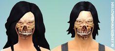 CAS / Maquillage crâne