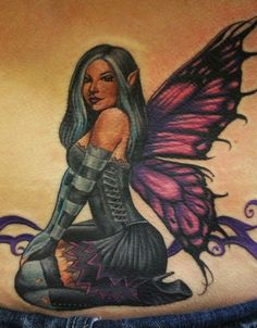 Chris Garcia - Fairy Pin Up Tattoo