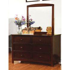 Omnus Dark Walnut Dresser - CM7905D