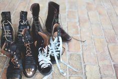 Alternatives to Shoelaces http://blog.freepeople.com/2013/07/alternative-shoelace-ideas/