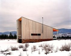 modern exterior by Eggleston Farkas Architects...very cool.