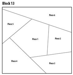 Introducing crazy quilt block free pattern block 13 of I dropped the button box - Pintangle