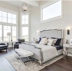 Master bedroom. Bed is to die for!