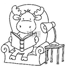 camp moose on the loose coloring pages | Free coloring pages are a great way to promote Camp Moose ...
