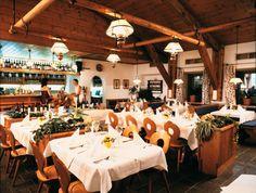 En natuurlijk heel lekker eten na zo'n dag wandelen.  goldried restaurant