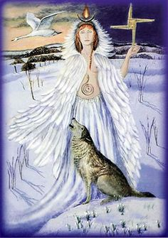http://www.goddesstemple.co.uk/temple_shop/images/maiden.jpg  ~Painting of Brighid by Wendy Andrew