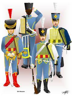 5 rgt. Ussari francese