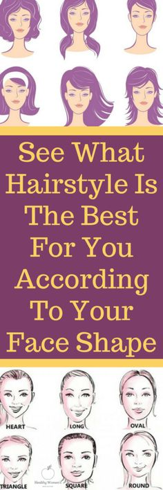 Today we're going to show you what haircut suits your face best. Continue reading below