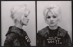 These Vintage Bad Girls Lived Fast and Looked Amazing #vintage #mugshot