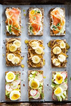 simple and healthy was a breakfast crackers /
